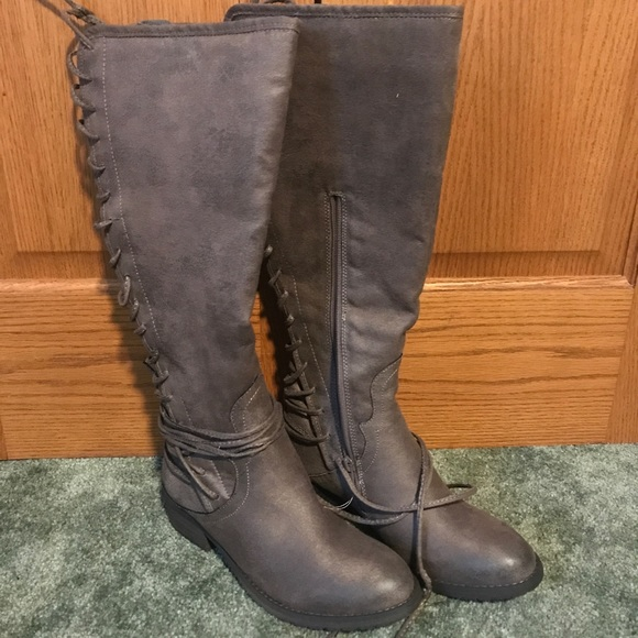 c69bb2e391d0 Very Volatile Shoes | Marcelina Lace Up Boots | Poshmark